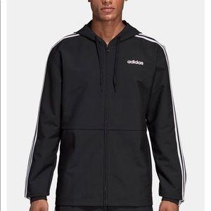Adidas Men's Essentials Hooded Windbreaker